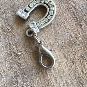 Anthropologie Jewelry - Anthropologie Collector Charm Rhinestone Horseshoe